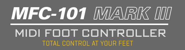 MFC-101 Mark III Midi Foot Controller: Total Control At Your Feet