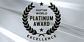 Guitar World Platinum Award for Excellence