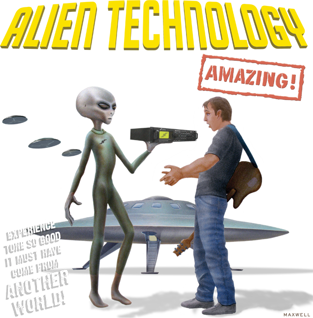 Fractal Audio Systems presents Alien Technology - Experience tone so good it must have come from another world.