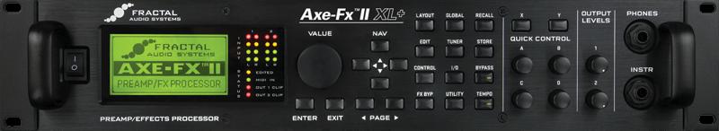 Axe-Fx II XL+ - Fractal Audio Systems