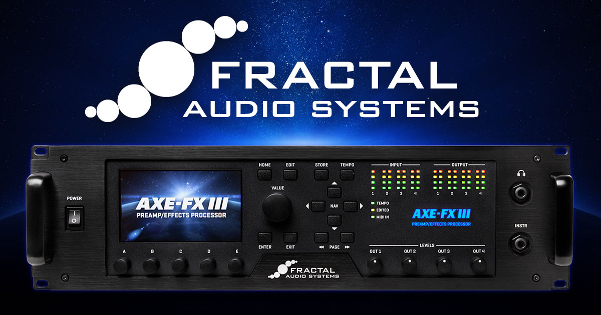 Fractal Audio Systems - Amp Modeling and Effects Processor
