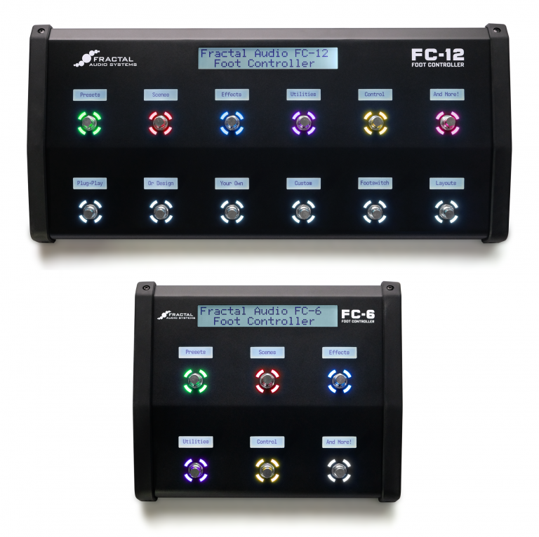 FC-12 and FC-6 Foot Controllers for the Axe-Fx III