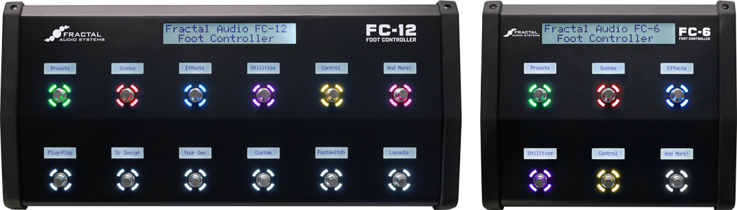 FC-12 and FC-6 Foot Controllers